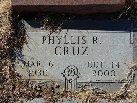 CRUZ, PHYLLIS R - Colfax County, New Mexico | PHYLLIS R CRUZ - New Mexico Gravestone Photos