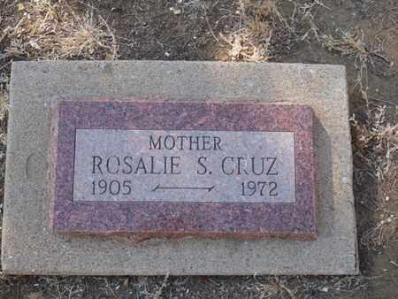 CRUZ, ROSALIE S - Colfax County, New Mexico | ROSALIE S CRUZ - New Mexico Gravestone Photos