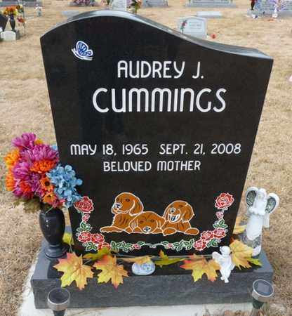 CUMMINGS, AUDREY J - Colfax County, New Mexico | AUDREY J CUMMINGS - New Mexico Gravestone Photos