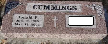 CUMMINGS, DONALD P - Colfax County, New Mexico   DONALD P CUMMINGS - New Mexico Gravestone Photos
