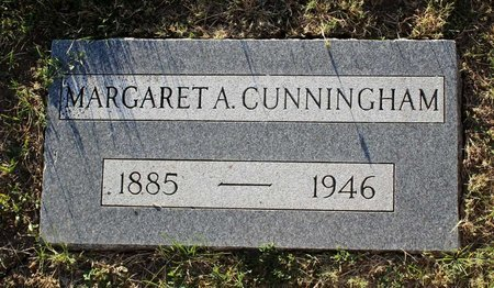 CUNNINGHAM, MARGARET A. - Colfax County, New Mexico   MARGARET A. CUNNINGHAM - New Mexico Gravestone Photos