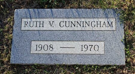 CUNNINGHAM, RUTH V. - Colfax County, New Mexico | RUTH V. CUNNINGHAM - New Mexico Gravestone Photos