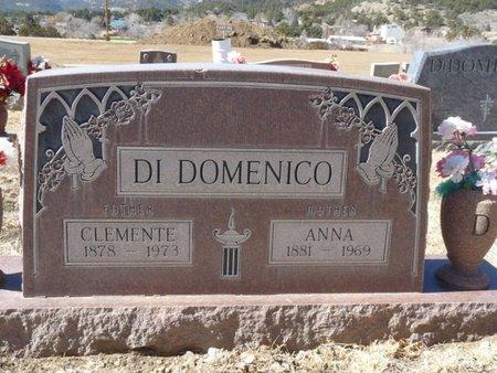 DI DOMENICO, ANNA - Colfax County, New Mexico | ANNA DI DOMENICO - New Mexico Gravestone Photos