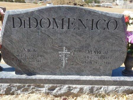 DI DOMENICO, MARGIE - Colfax County, New Mexico | MARGIE DI DOMENICO - New Mexico Gravestone Photos