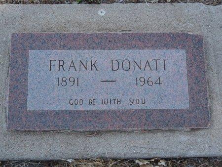 DONATI, FRANK - Colfax County, New Mexico   FRANK DONATI - New Mexico Gravestone Photos
