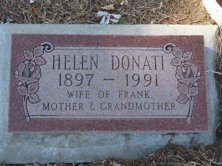 DONATI, HELEN - Colfax County, New Mexico | HELEN DONATI - New Mexico Gravestone Photos