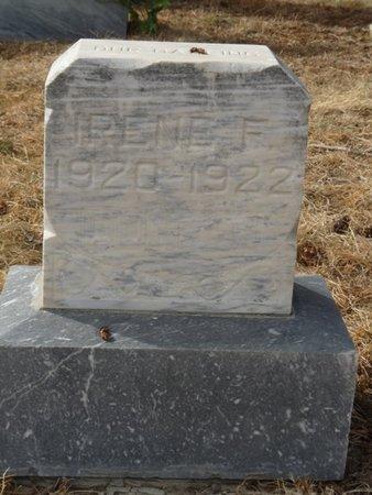 DONATI, IRENE F - Colfax County, New Mexico | IRENE F DONATI - New Mexico Gravestone Photos