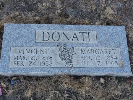 DONATI, MARGARET - Colfax County, New Mexico | MARGARET DONATI - New Mexico Gravestone Photos
