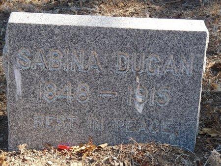 DUGAN, SABINA - Colfax County, New Mexico | SABINA DUGAN - New Mexico Gravestone Photos