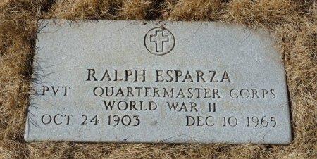 ESPARZA (VETERAN WWII), RALPH (NEW) - Colfax County, New Mexico | RALPH (NEW) ESPARZA (VETERAN WWII) - New Mexico Gravestone Photos