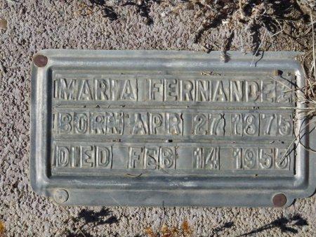 FERNANDEZ, MARIA - Colfax County, New Mexico | MARIA FERNANDEZ - New Mexico Gravestone Photos