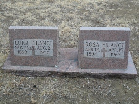 FILANGI, LUIGI - Colfax County, New Mexico   LUIGI FILANGI - New Mexico Gravestone Photos