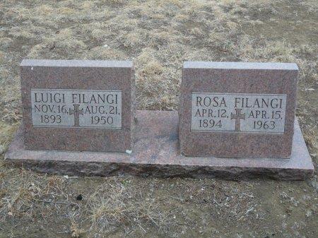 FILANGI, ROSA - Colfax County, New Mexico   ROSA FILANGI - New Mexico Gravestone Photos