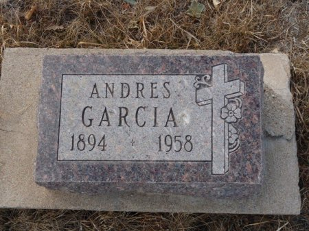 GARCIA, ANDRES - Colfax County, New Mexico | ANDRES GARCIA - New Mexico Gravestone Photos