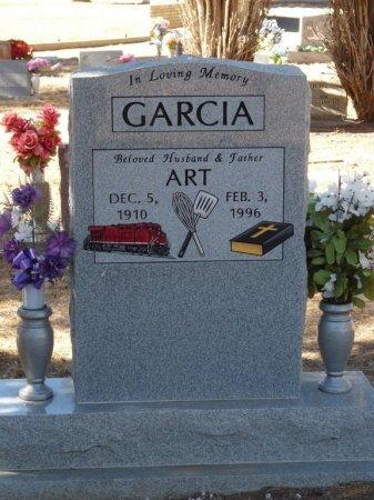 GARCIA, ART - Colfax County, New Mexico   ART GARCIA - New Mexico Gravestone Photos