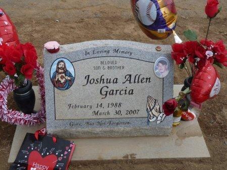 GARCIA, JOSHUA ALLEN - Colfax County, New Mexico | JOSHUA ALLEN GARCIA - New Mexico Gravestone Photos