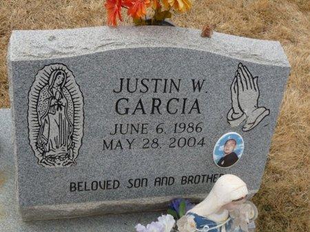 GARCIA, JUSTIN W - Colfax County, New Mexico   JUSTIN W GARCIA - New Mexico Gravestone Photos