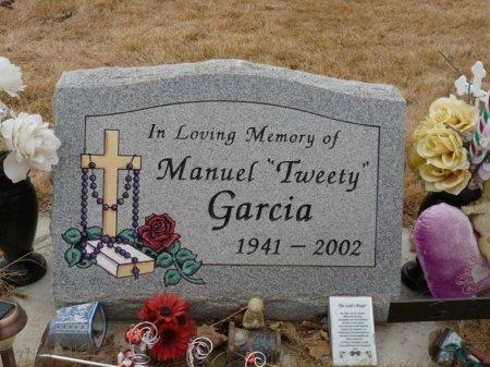 "GARCIA, MANUEL ""TWEETY"" - Colfax County, New Mexico | MANUEL ""TWEETY"" GARCIA - New Mexico Gravestone Photos"