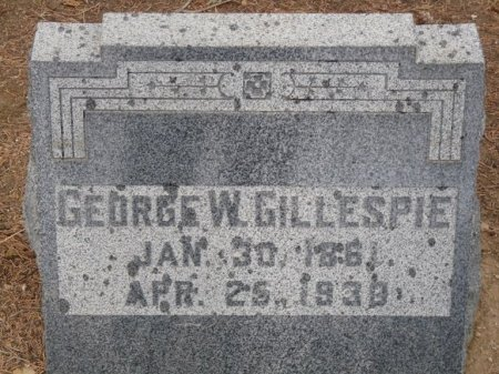 GILLESPIE, GEORGE WASHINGTON - Colfax County, New Mexico | GEORGE WASHINGTON GILLESPIE - New Mexico Gravestone Photos