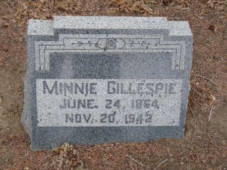 GILLESPIE, MINNIE - Colfax County, New Mexico | MINNIE GILLESPIE - New Mexico Gravestone Photos
