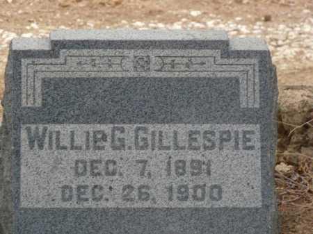 GILLESPIE, WILLIE GEORGE - Colfax County, New Mexico | WILLIE GEORGE GILLESPIE - New Mexico Gravestone Photos