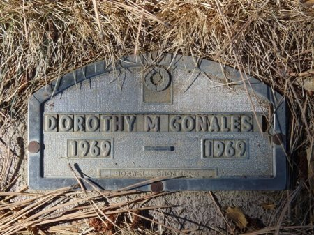 GONALES, DOROTHY M - Colfax County, New Mexico | DOROTHY M GONALES - New Mexico Gravestone Photos