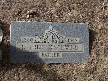 "G'SCHWIND, CARL FREDERICK ""FRED"" - Colfax County, New Mexico | CARL FREDERICK ""FRED"" G'SCHWIND - New Mexico Gravestone Photos"