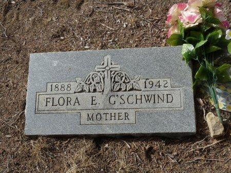 G'SCHWIND, FLORA E - Colfax County, New Mexico   FLORA E G'SCHWIND - New Mexico Gravestone Photos