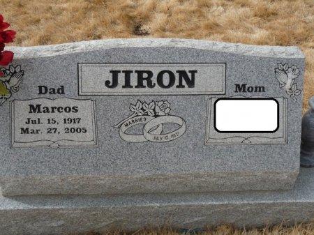 JIRON, MARCOS - Colfax County, New Mexico | MARCOS JIRON - New Mexico Gravestone Photos