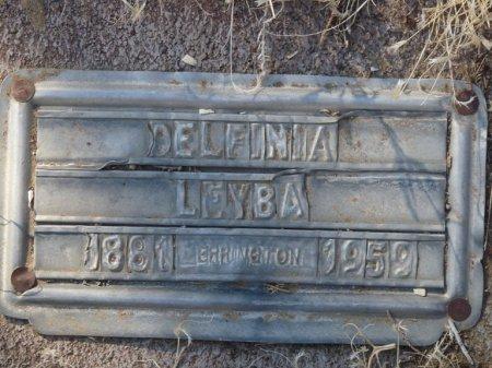 LEYBA, DELFINIA - Colfax County, New Mexico | DELFINIA LEYBA - New Mexico Gravestone Photos