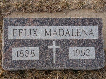 MADALENA, FELIX - Colfax County, New Mexico | FELIX MADALENA - New Mexico Gravestone Photos