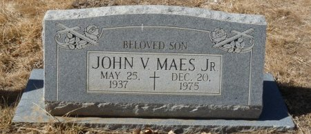 MAES, JR, JOHN VALENTINO - Colfax County, New Mexico | JOHN VALENTINO MAES, JR - New Mexico Gravestone Photos