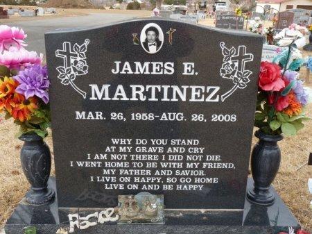 MARTINEZ, JAMES E - Colfax County, New Mexico | JAMES E MARTINEZ - New Mexico Gravestone Photos