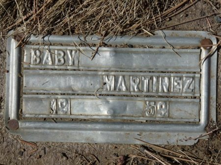 MARTINEZ, BABY - Colfax County, New Mexico | BABY MARTINEZ - New Mexico Gravestone Photos