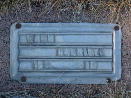 MARTINEZ, BABY - Colfax County, New Mexico | BABY MARTINEZ - New Mexico Gravestone Photos