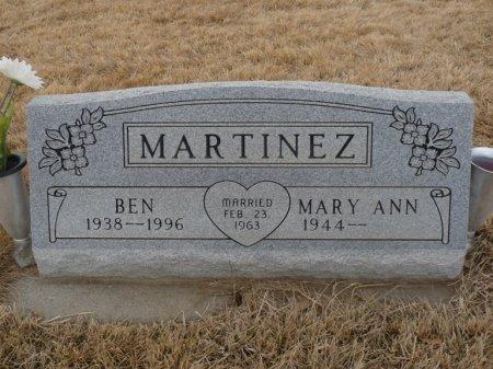 MARTINEZ, MARY ANN - Colfax County, New Mexico | MARY ANN MARTINEZ - New Mexico Gravestone Photos