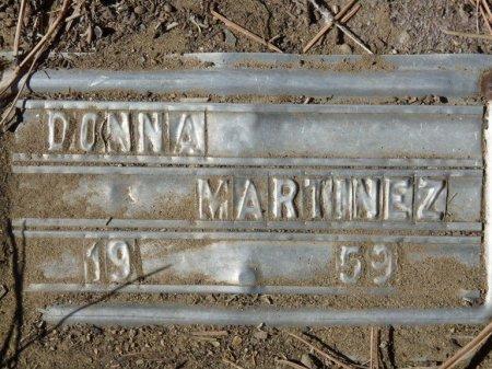 MARTINEZ, DONNA - Colfax County, New Mexico   DONNA MARTINEZ - New Mexico Gravestone Photos