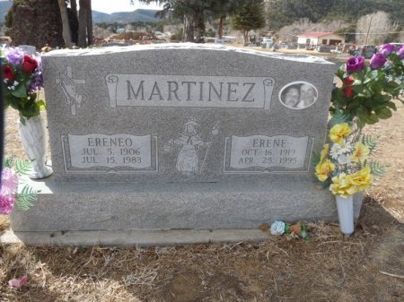 MARTINEZ, ERENEO - Colfax County, New Mexico | ERENEO MARTINEZ - New Mexico Gravestone Photos