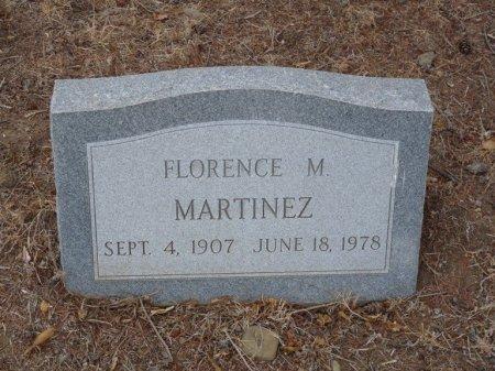 MARTINEZ, FLORENCE M - Colfax County, New Mexico   FLORENCE M MARTINEZ - New Mexico Gravestone Photos