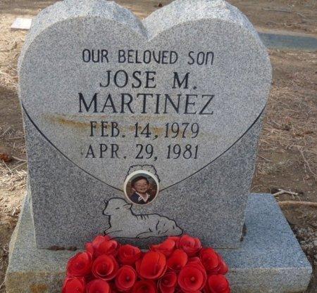 MARTINEZ, JOSE M - Colfax County, New Mexico | JOSE M MARTINEZ - New Mexico Gravestone Photos