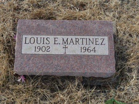 MARTINEZ, LOUIS E - Colfax County, New Mexico   LOUIS E MARTINEZ - New Mexico Gravestone Photos