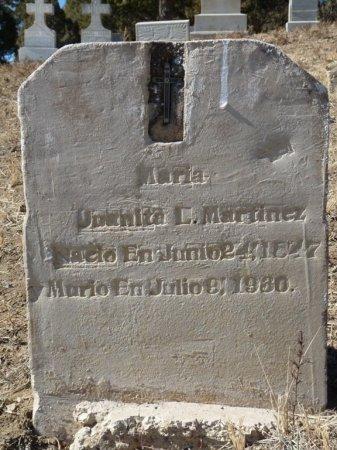 MARTINEZ, MARIA - Colfax County, New Mexico | MARIA MARTINEZ - New Mexico Gravestone Photos