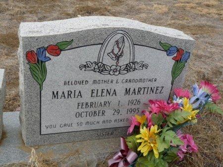 MARTINEZ, MARIA ELENA - Colfax County, New Mexico   MARIA ELENA MARTINEZ - New Mexico Gravestone Photos