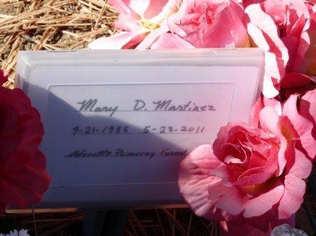 MARTINEZ, MARY DELLA MARCELLA - Colfax County, New Mexico   MARY DELLA MARCELLA MARTINEZ - New Mexico Gravestone Photos