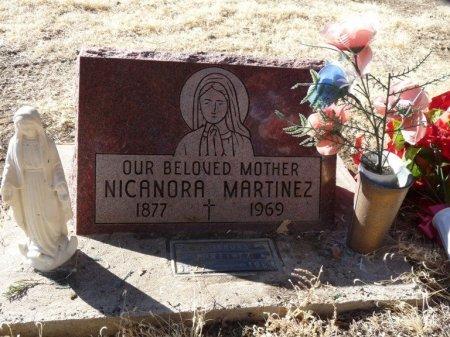 MARTINEZ, NICANORA - Colfax County, New Mexico   NICANORA MARTINEZ - New Mexico Gravestone Photos