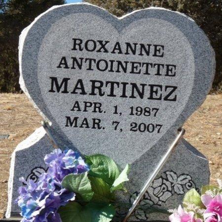 MARTINEZ, ROXANNE ANTOINETTE - Colfax County, New Mexico | ROXANNE ANTOINETTE MARTINEZ - New Mexico Gravestone Photos
