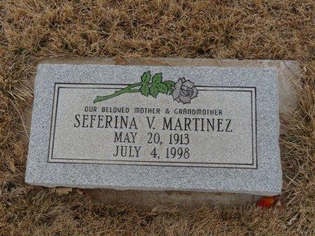 MARTINEZ, SEFERINA V - Colfax County, New Mexico | SEFERINA V MARTINEZ - New Mexico Gravestone Photos