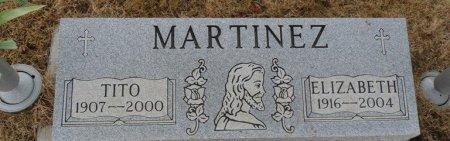 MARTINEZ, ELIZABETH - Colfax County, New Mexico | ELIZABETH MARTINEZ - New Mexico Gravestone Photos