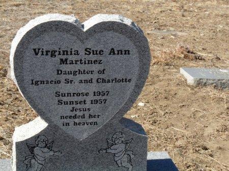MARTINEZ, VIRGINIA SUE ANN - Colfax County, New Mexico | VIRGINIA SUE ANN MARTINEZ - New Mexico Gravestone Photos
