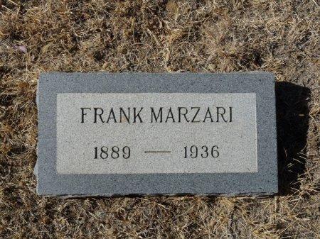 MARZARI, FRANK - Colfax County, New Mexico | FRANK MARZARI - New Mexico Gravestone Photos